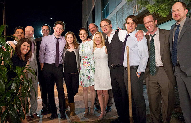 'The Office' stars react to Jennifer Garner crying over the finale