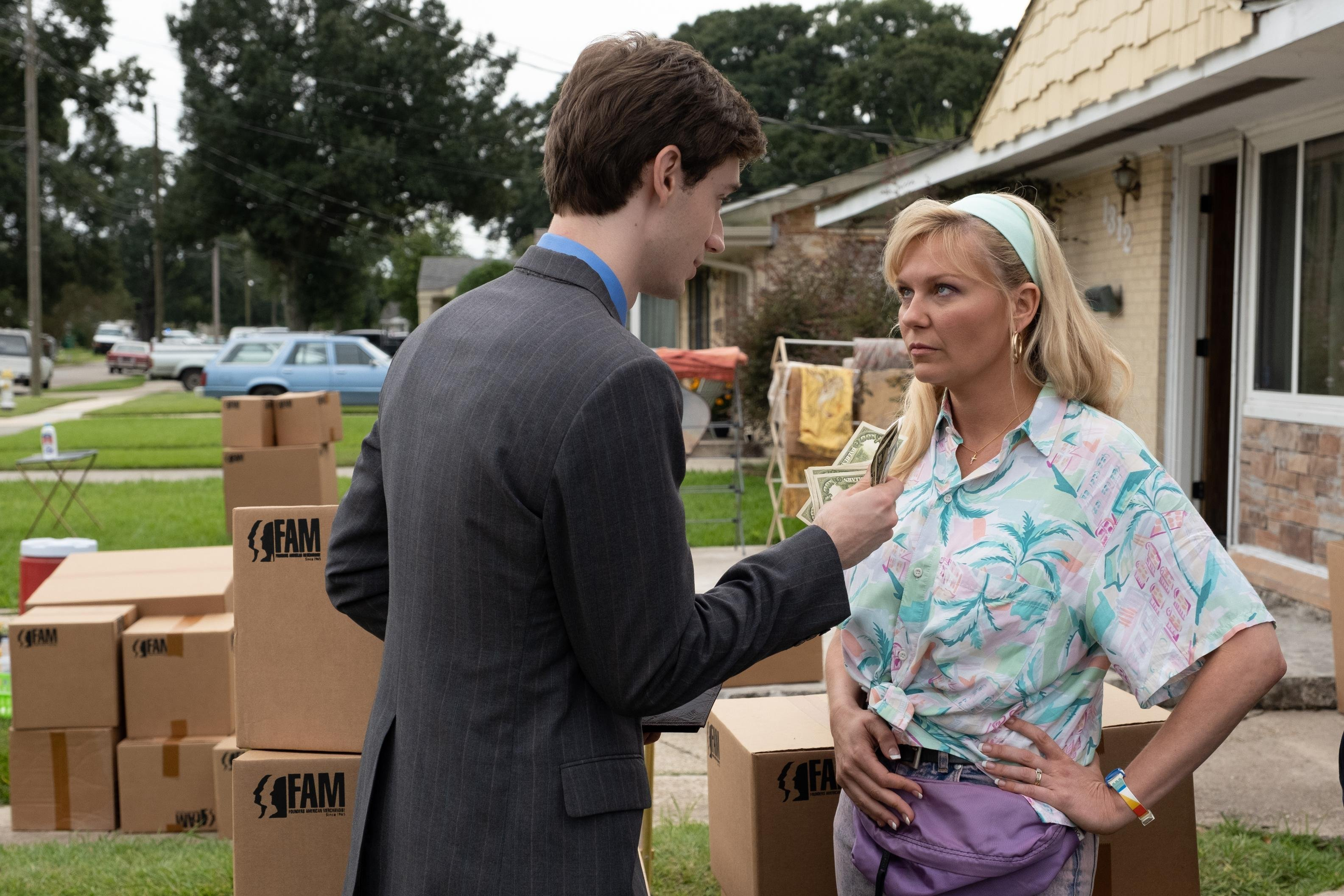 Kirsten Dunst shines in quirky 'On Becoming a God in Central Florida'