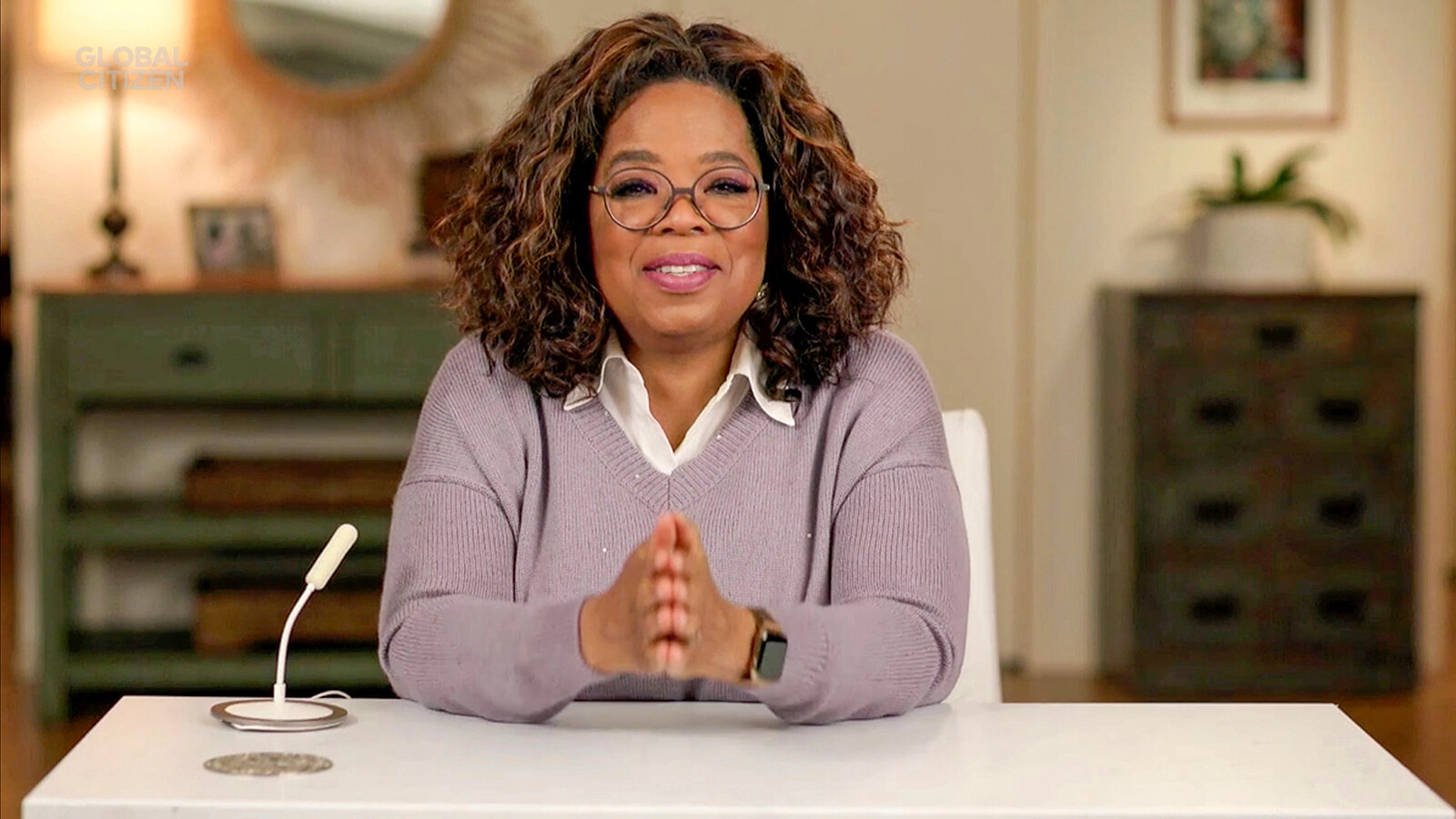 Oprah Winfrey shares her concerns about where we are as a country