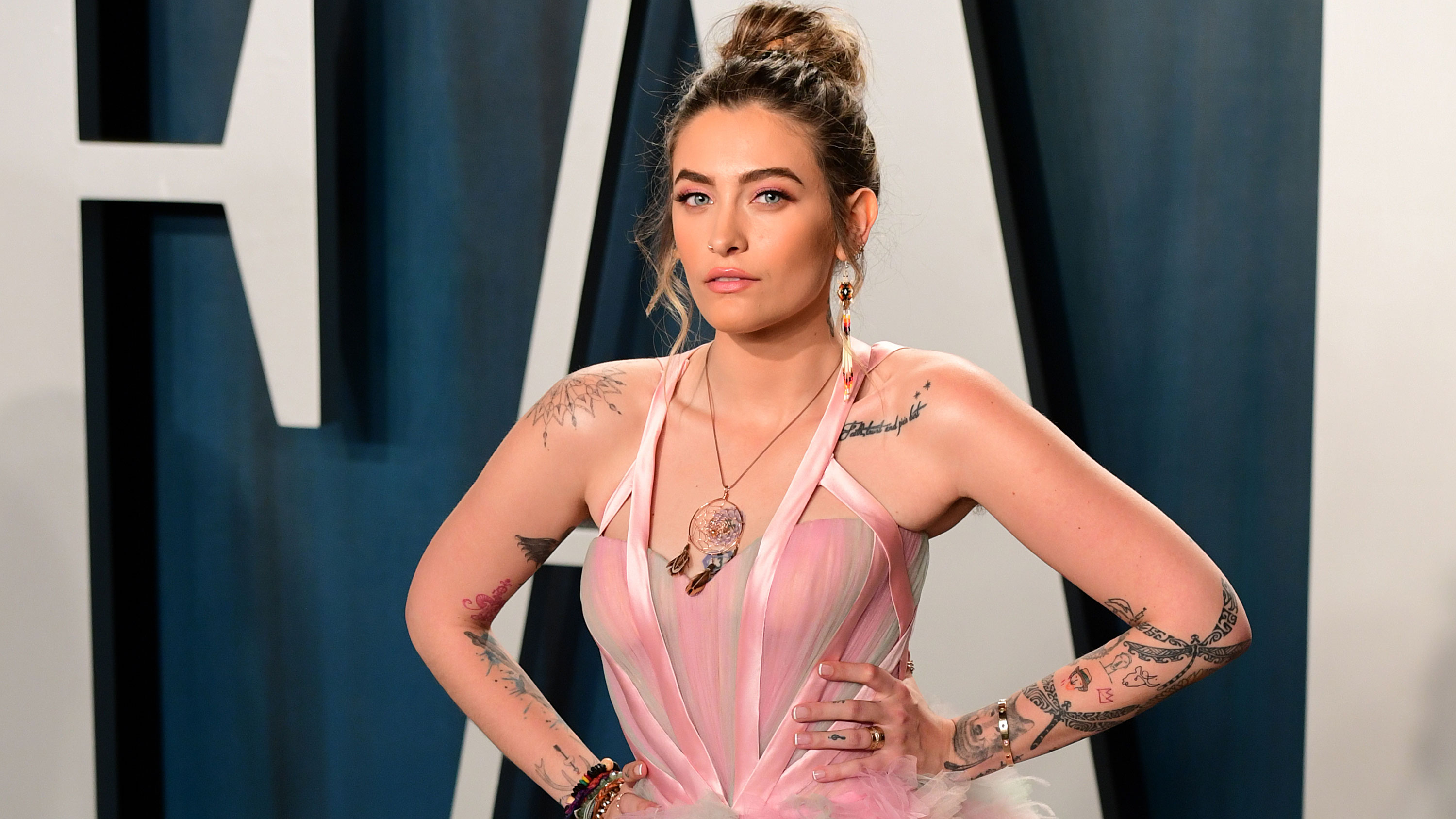 Paris Jackson debuts 'Let Down' and signs record deal
