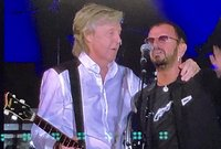 Paul McCartney and Ringo Starr reunited to perform Beatles classics at Dodger Stadium