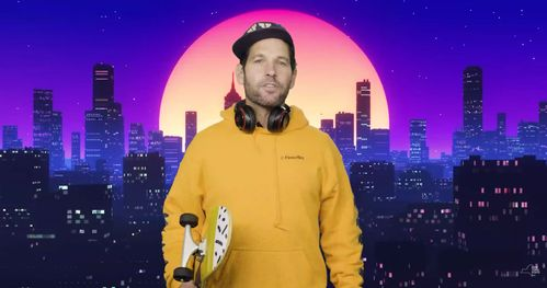 Image for Paul Rudd, 'certified young person,' wants you to wear a mask