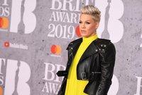 Pink responds to criticism over her kids running through Holocaust memorial