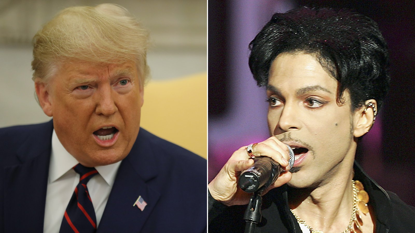 Prince's estate objects (again) to Trump campaign playing 'Purple Rain' at rally