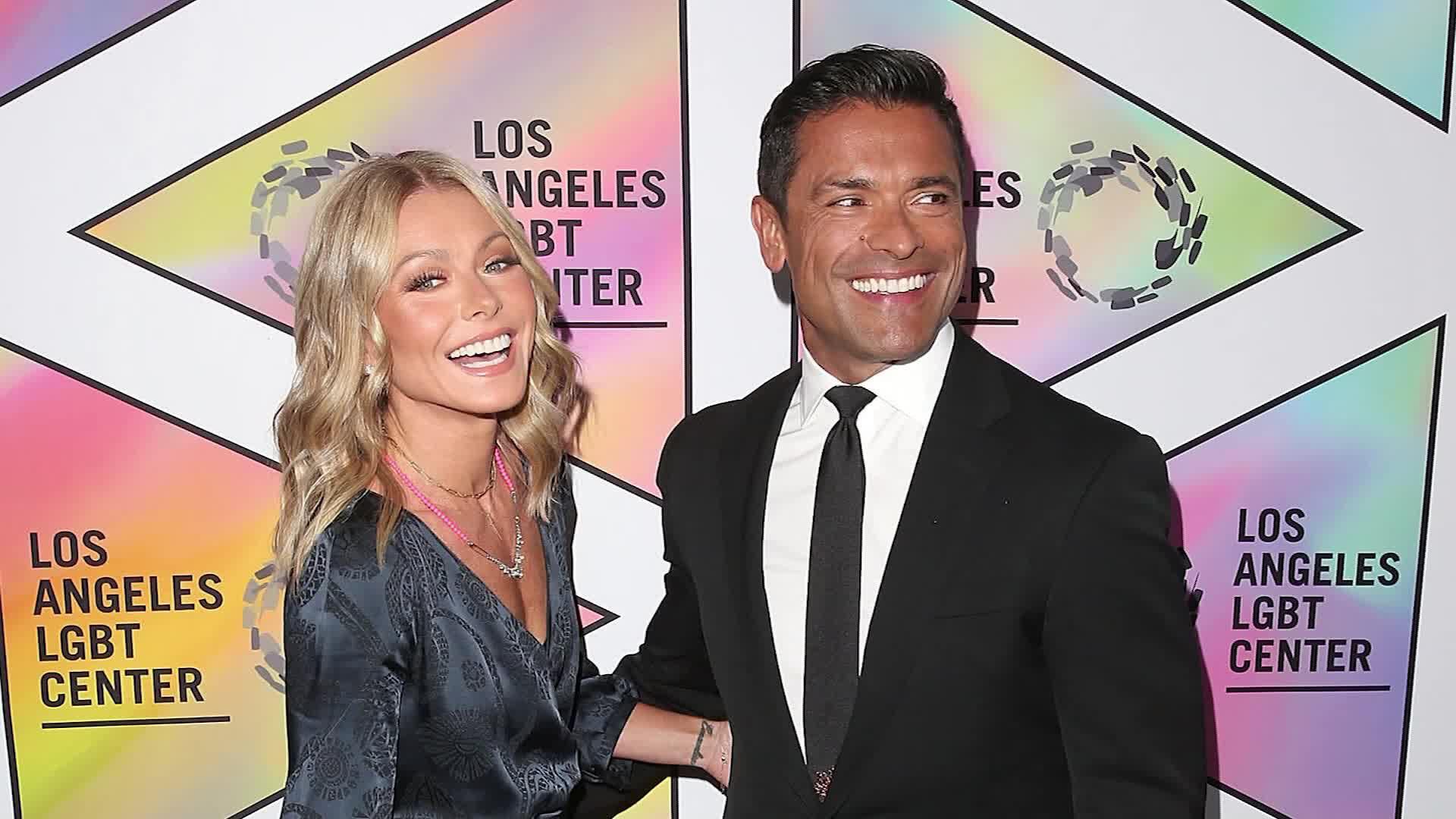 Kelly Ripa and Mark Consuelos are empty nesters