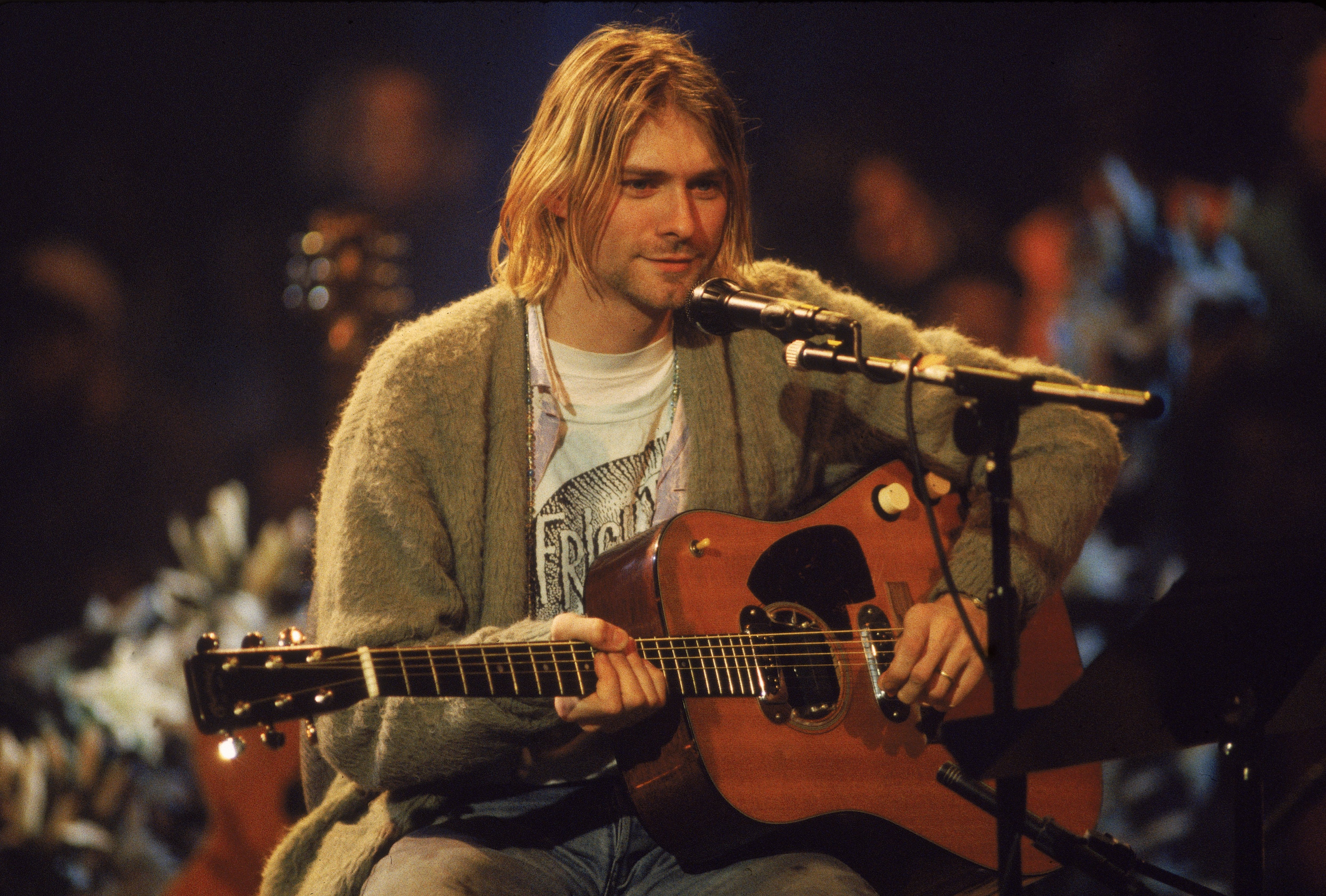 Kurt Cobain's famous sweater, still unwashed, and other rare rock memorabilia go up for auction