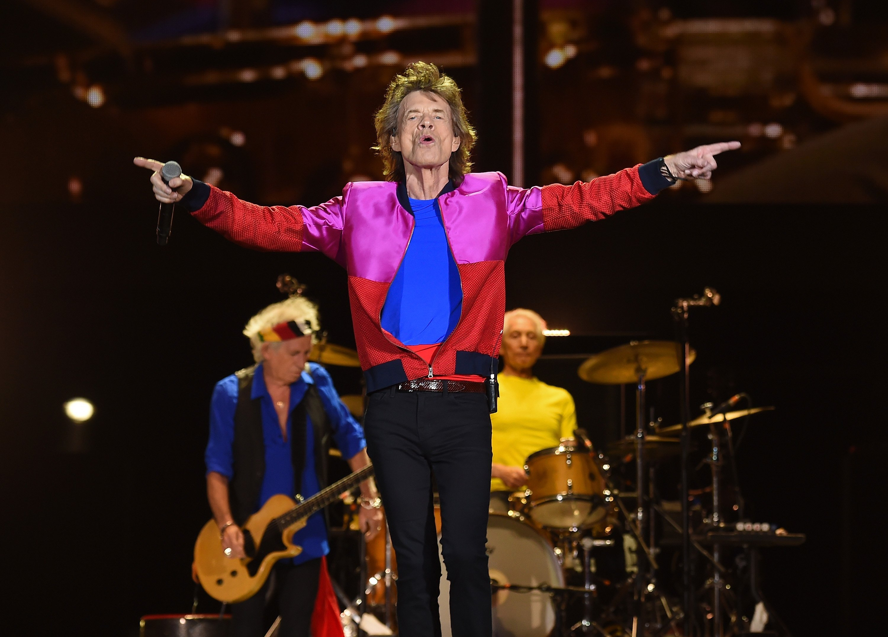Rolling Stones' concert postponed as Tropical Storm Barry nears landfall