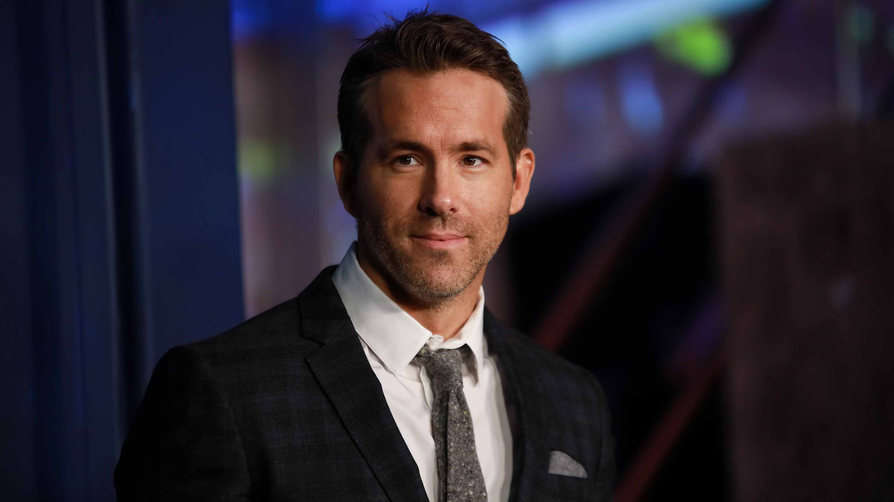Ryan Reynolds gets real about anxiety