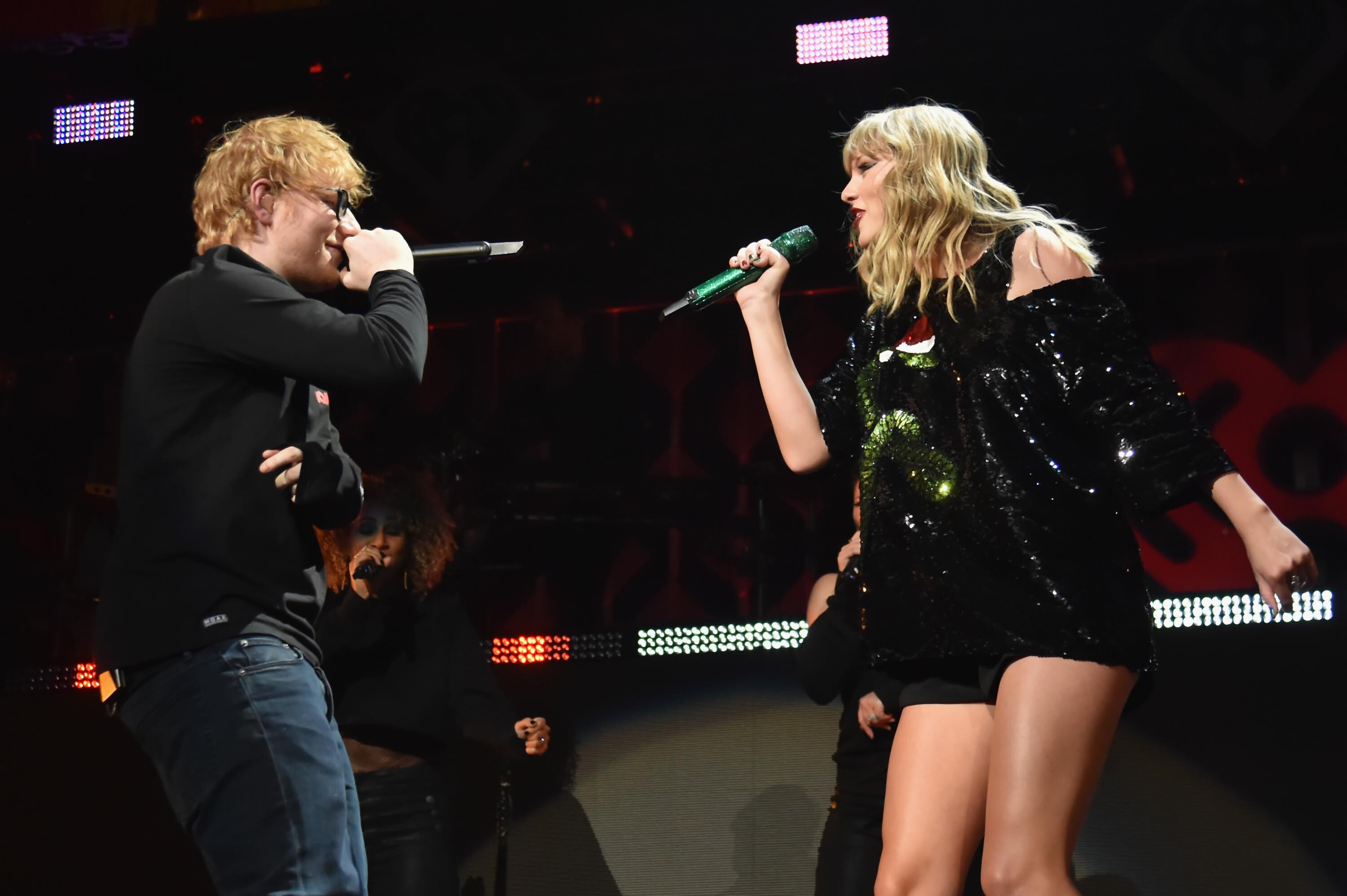 Ed Sheeran took Taylor Swift to a pub and no one noticed
