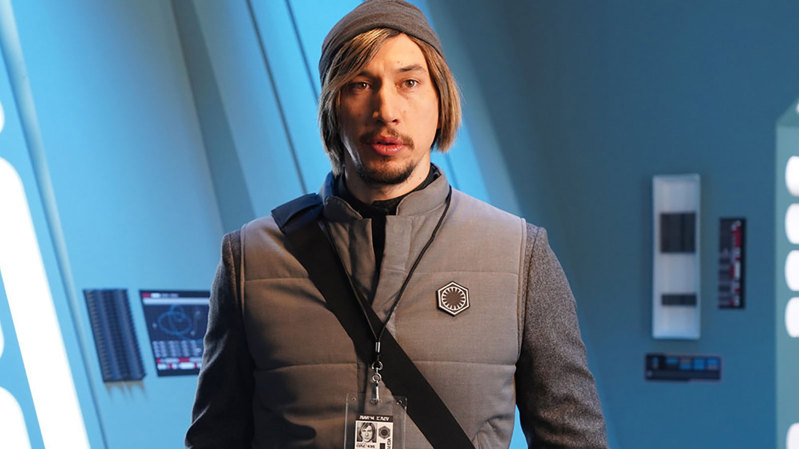 Adam Driver returns to 'SNL' as Kylo Ren to reprise his  'Undercover Boss' parody