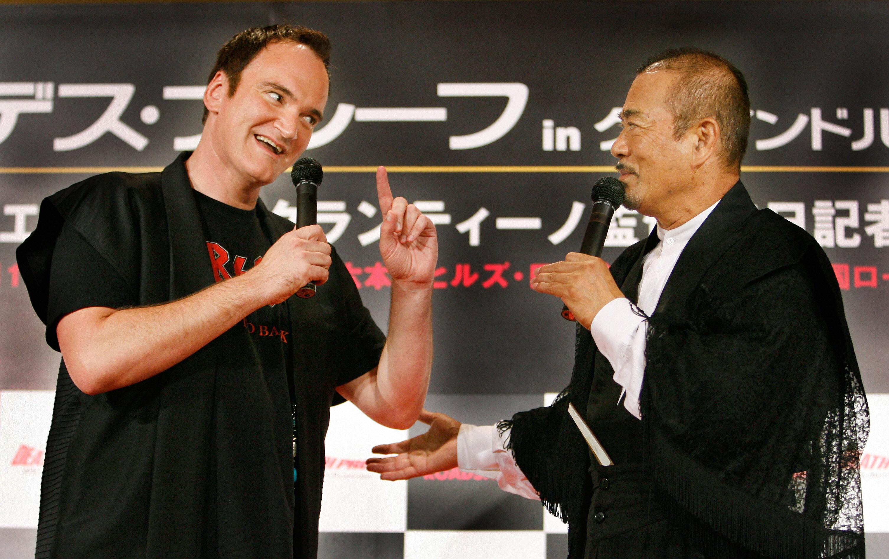 Sonny Chiba, martial arts star of 'Kill Bill,' dies of Covid-19 complications