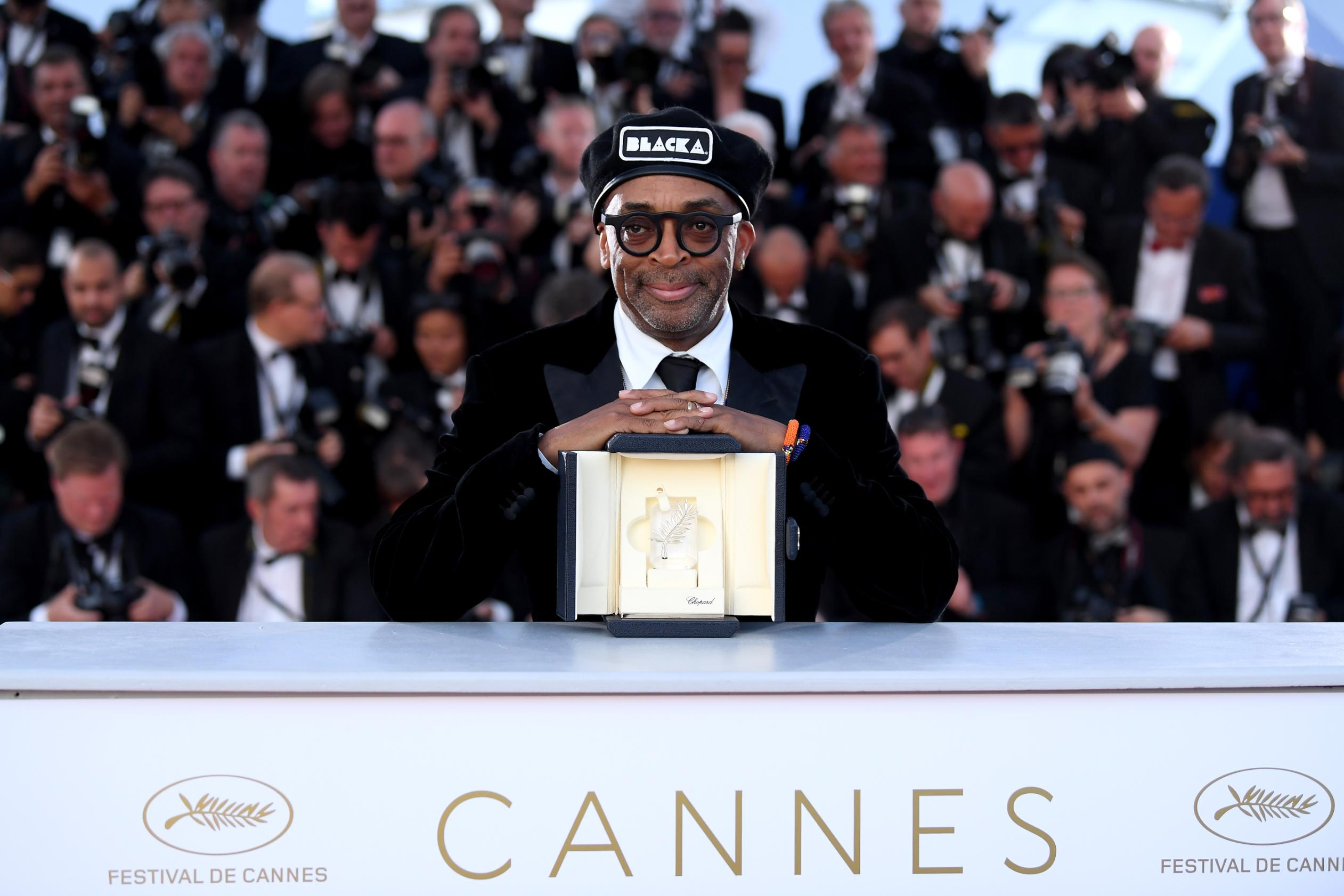 Spike Lee makes Cannes Film Festival history