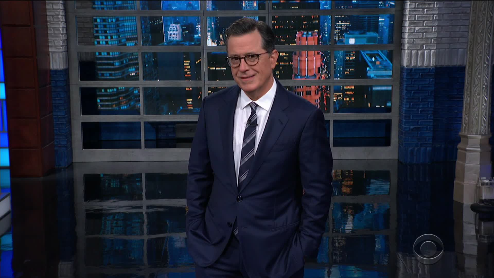 Stephen Colbert needs a haircut, too