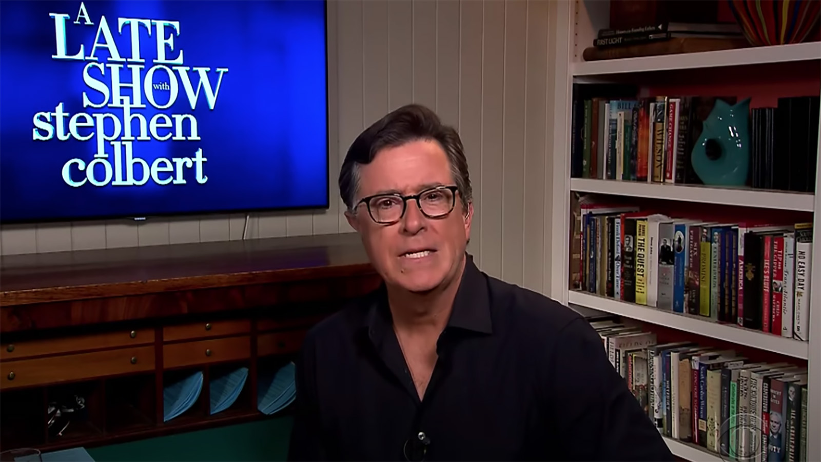 Stephen Colbert calls out violent police tactics at protests