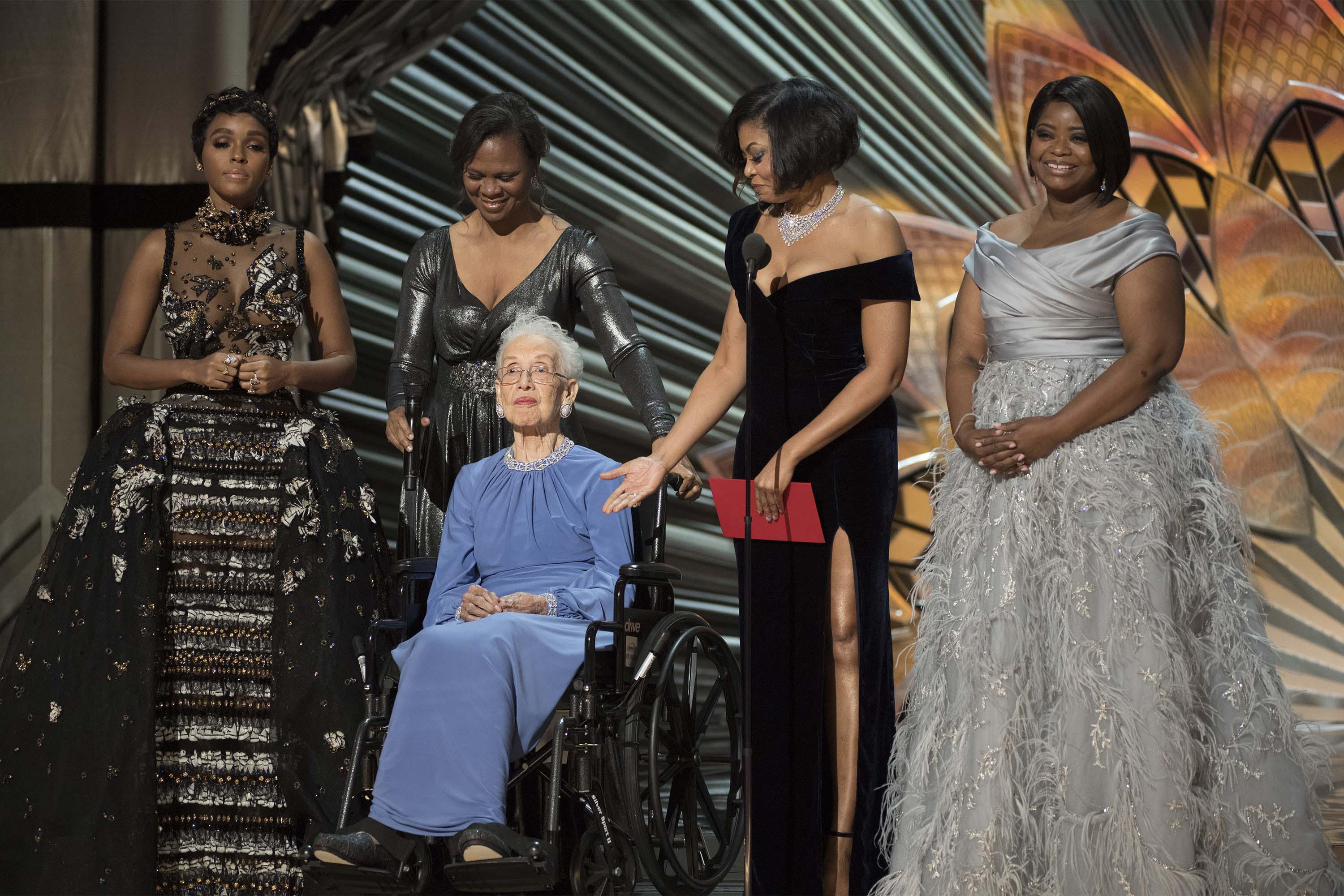 Taraji P. Henson pays tribute to Katherine Johnson