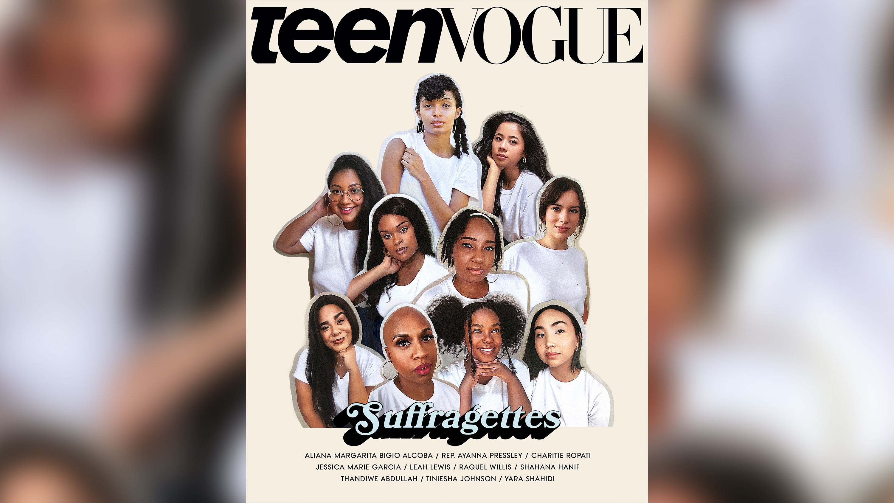Teen Vogue's August issue tackles voter suppression