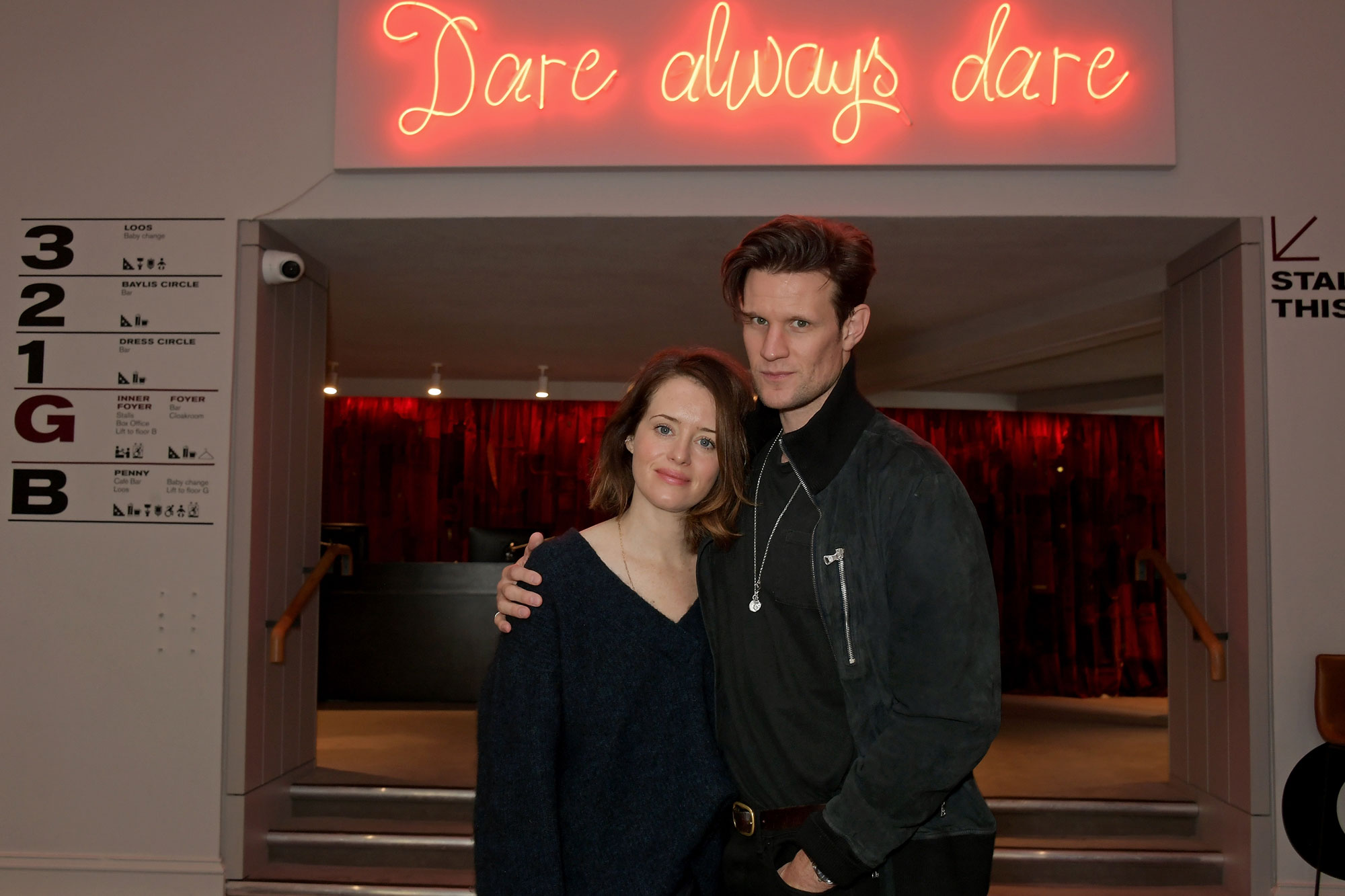 'The Crown' stars Claire Foy and Matt Smith to perform again together