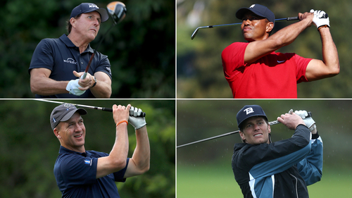 Image for Tiger Woods and Peyton Manning win 'Champions for Charity' golf match
