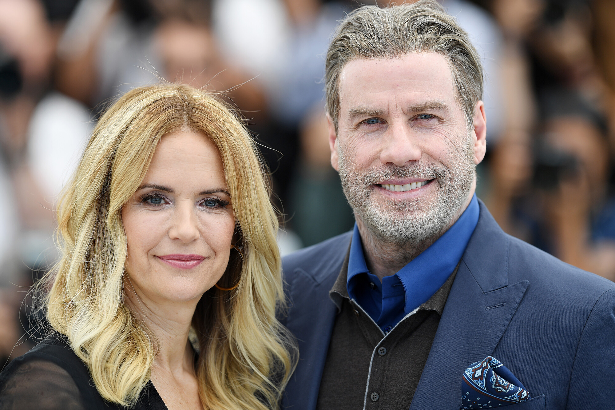 John Travolta on how he talked to their young son about Kelly Preston's death