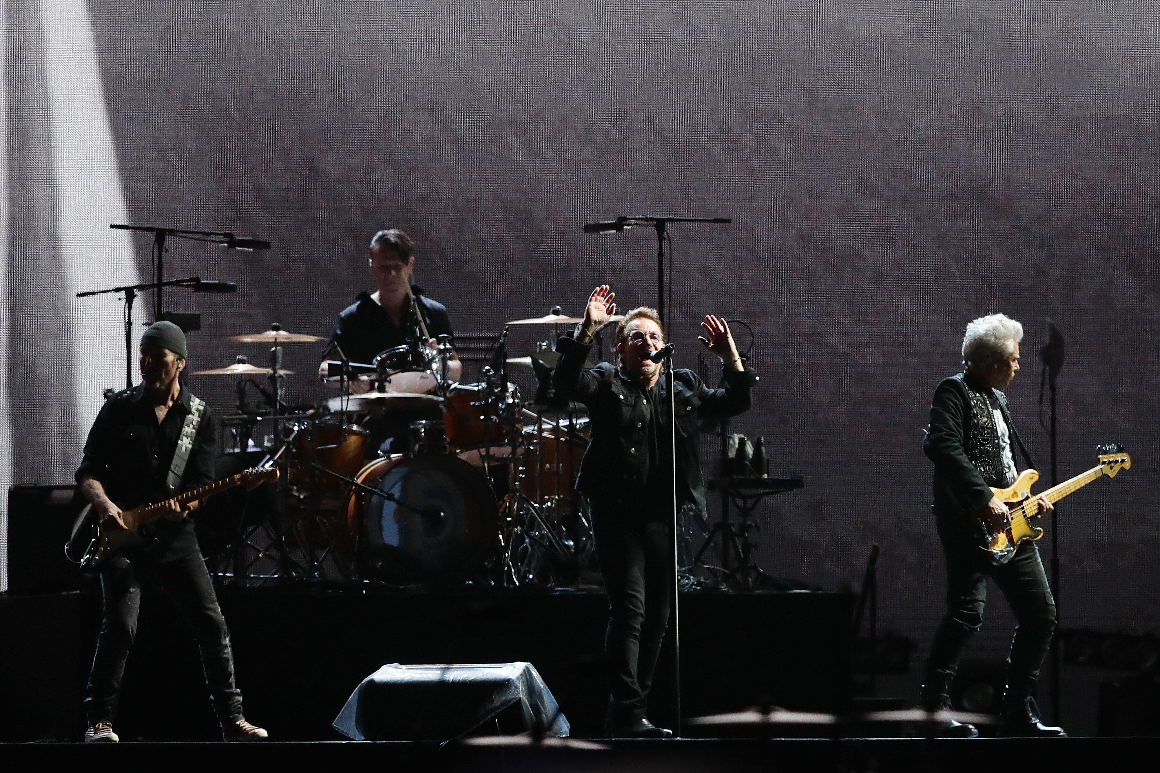 U2 debuts new song 'Ahimsa'
