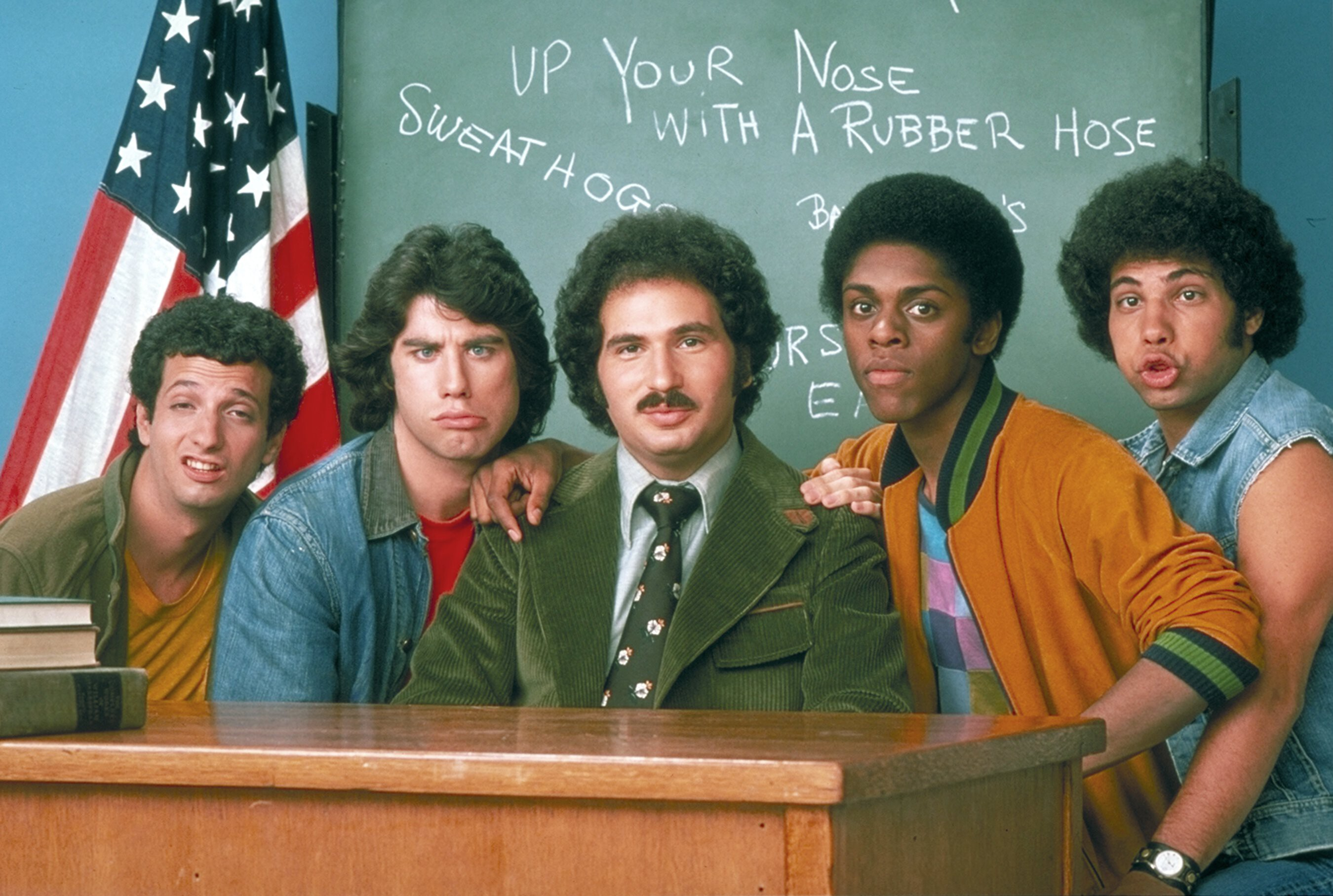 Where 'Welcome Back, Kotter' at first wasn't welcome