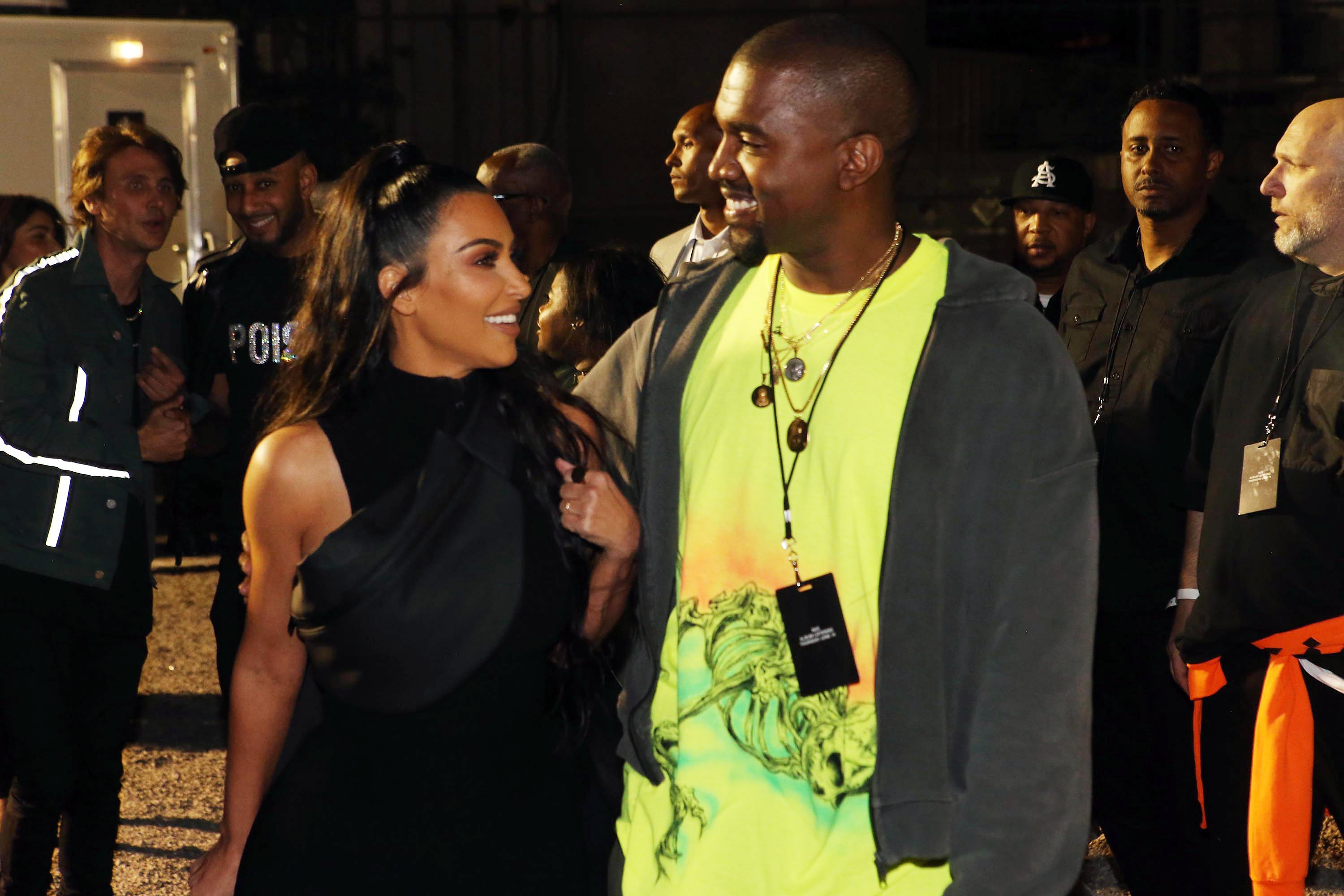 Kim and Kanye West renew vows and are done having kids