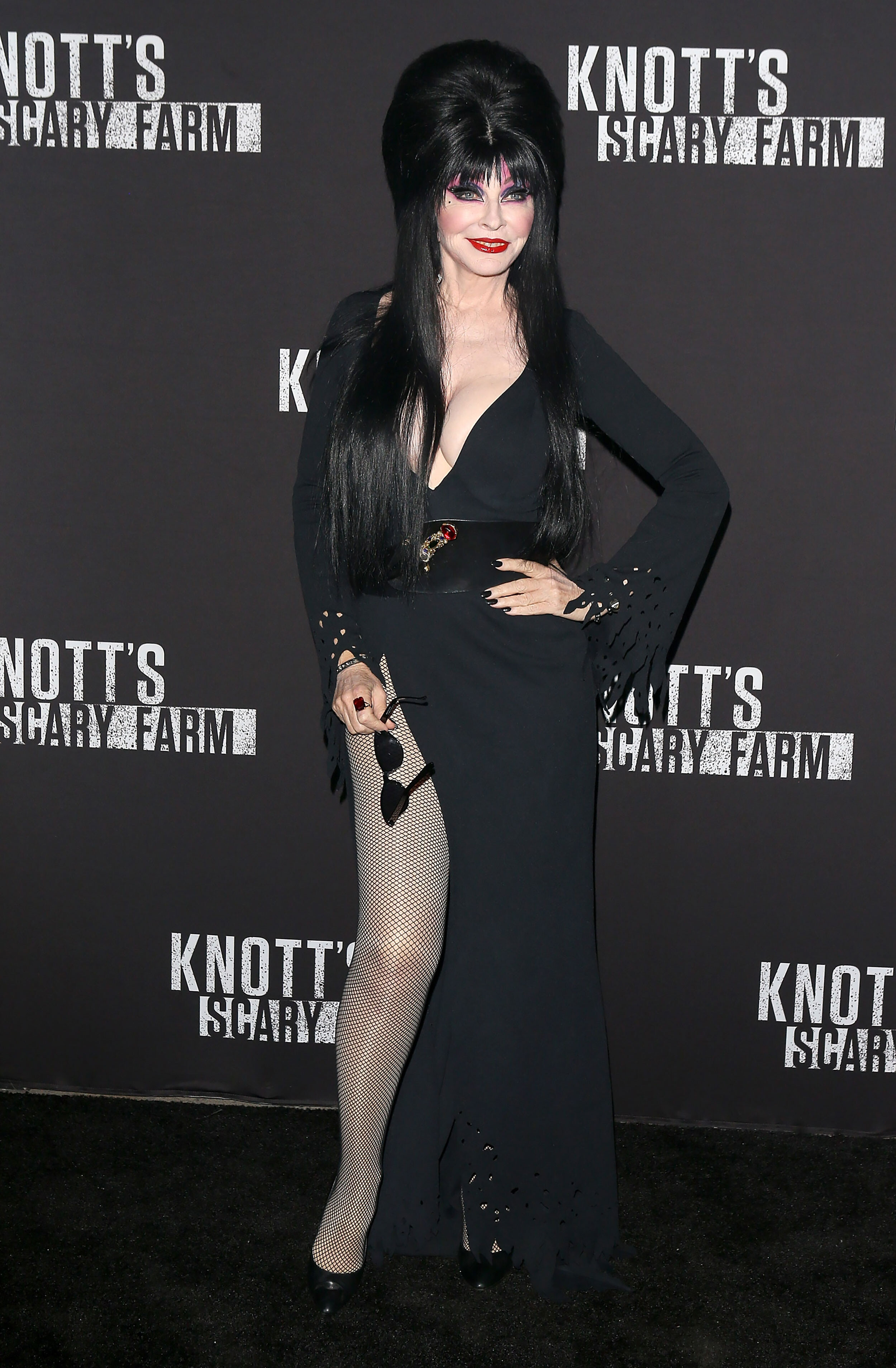 Elvira shares she's been in a 19-year relationship with a woman