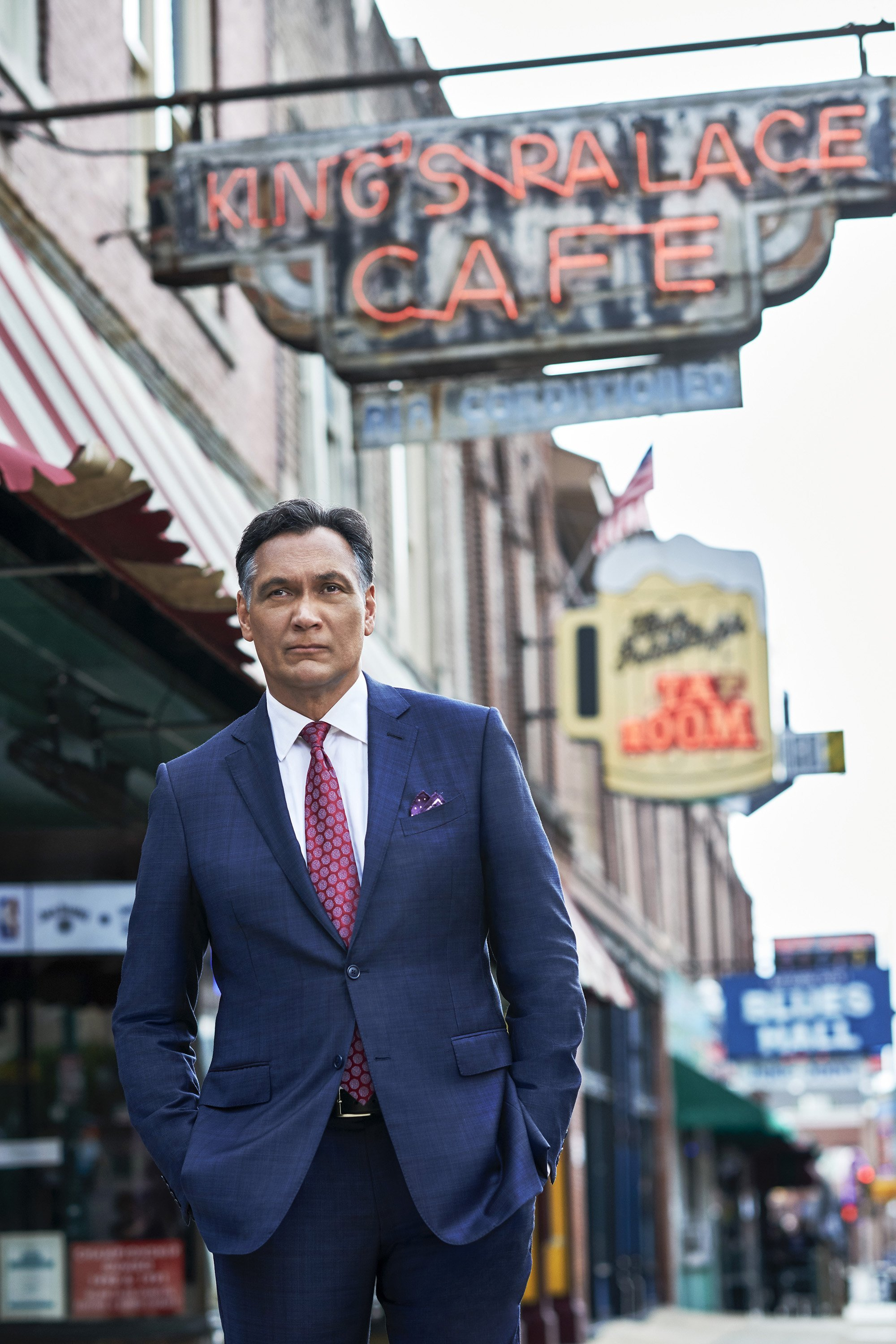 Three decades later, Jimmy Smits is back in the TV courtroom