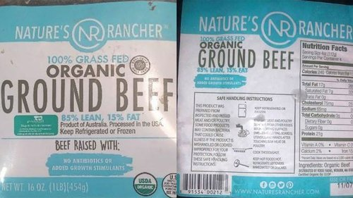 Image for More than 130,000 pounds of ground beef recalled for possible plastic contamination