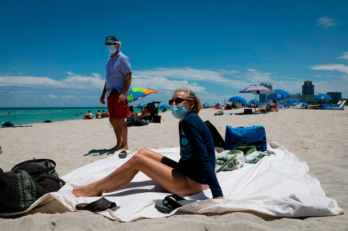 Image for CDC issues recommendations to help protect beachgoers from Covid-19 spread