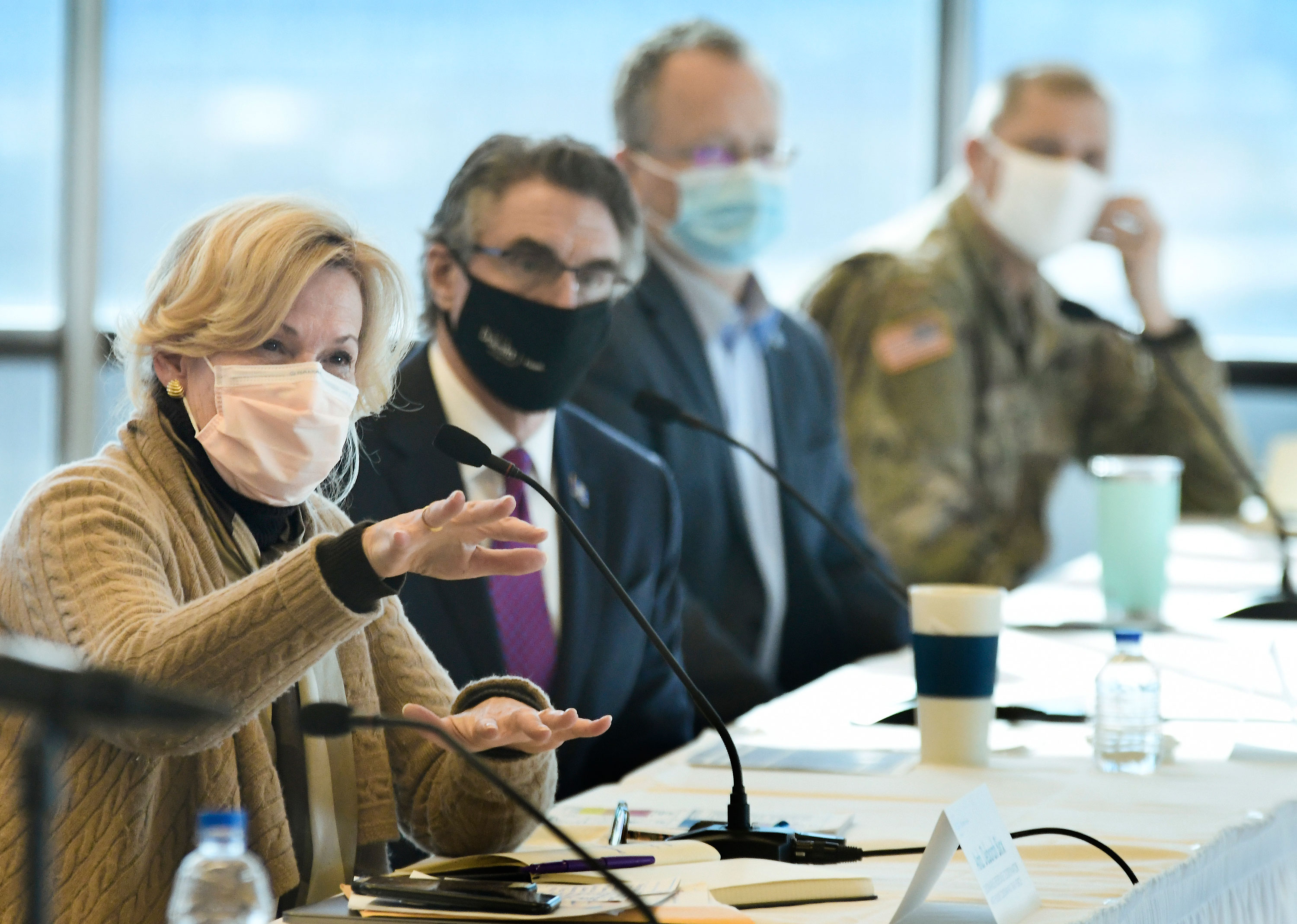 Dr. Birx slams the lack of mask usage in North Dakota, where Covid-19 is soaring