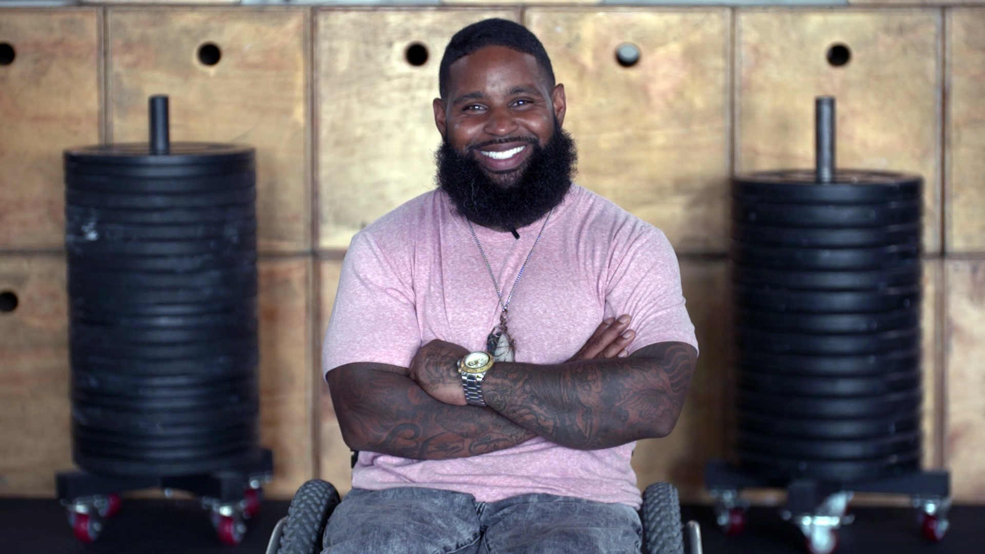 He was shot and paralyzed. Now he is living his best life in a wheelchair.