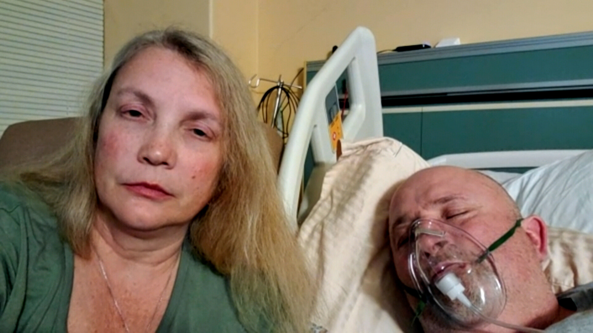 This Mississippi woman's unvaccinated husband is battling Covid-19 in an ICU: 'I wouldn't want my worst enemy to go through this'