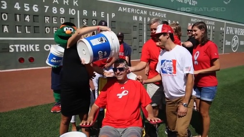 Image for Pete Frates, one of the men who popularized the Ice Bucket Challenge, has died