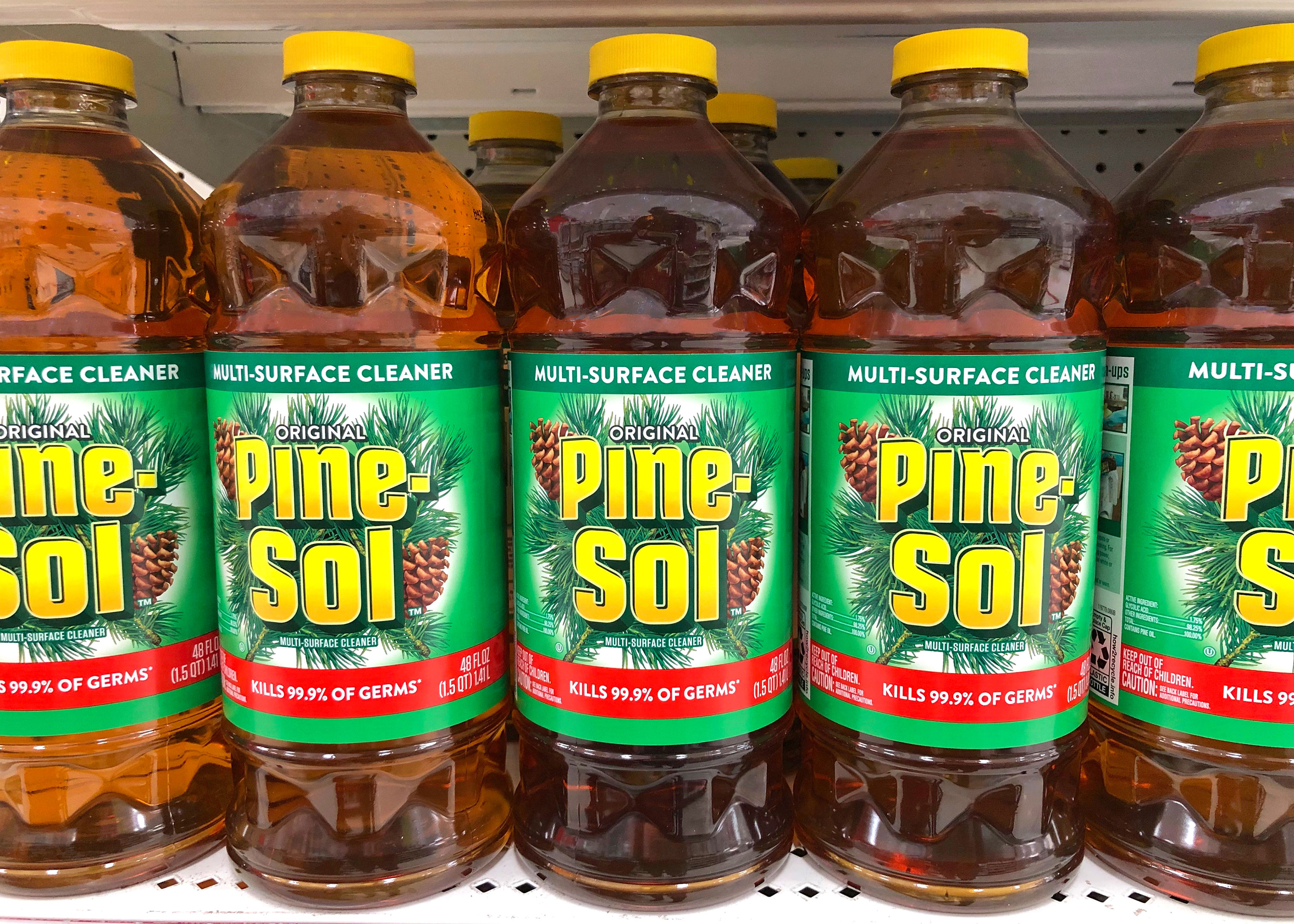 Pine-Sol cleaner has been approved to kill coronavirus on hard surfaces