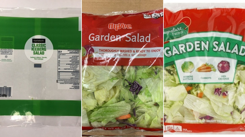 Image for More than 200 people get infections linked to bagged salad  sold in eight states
