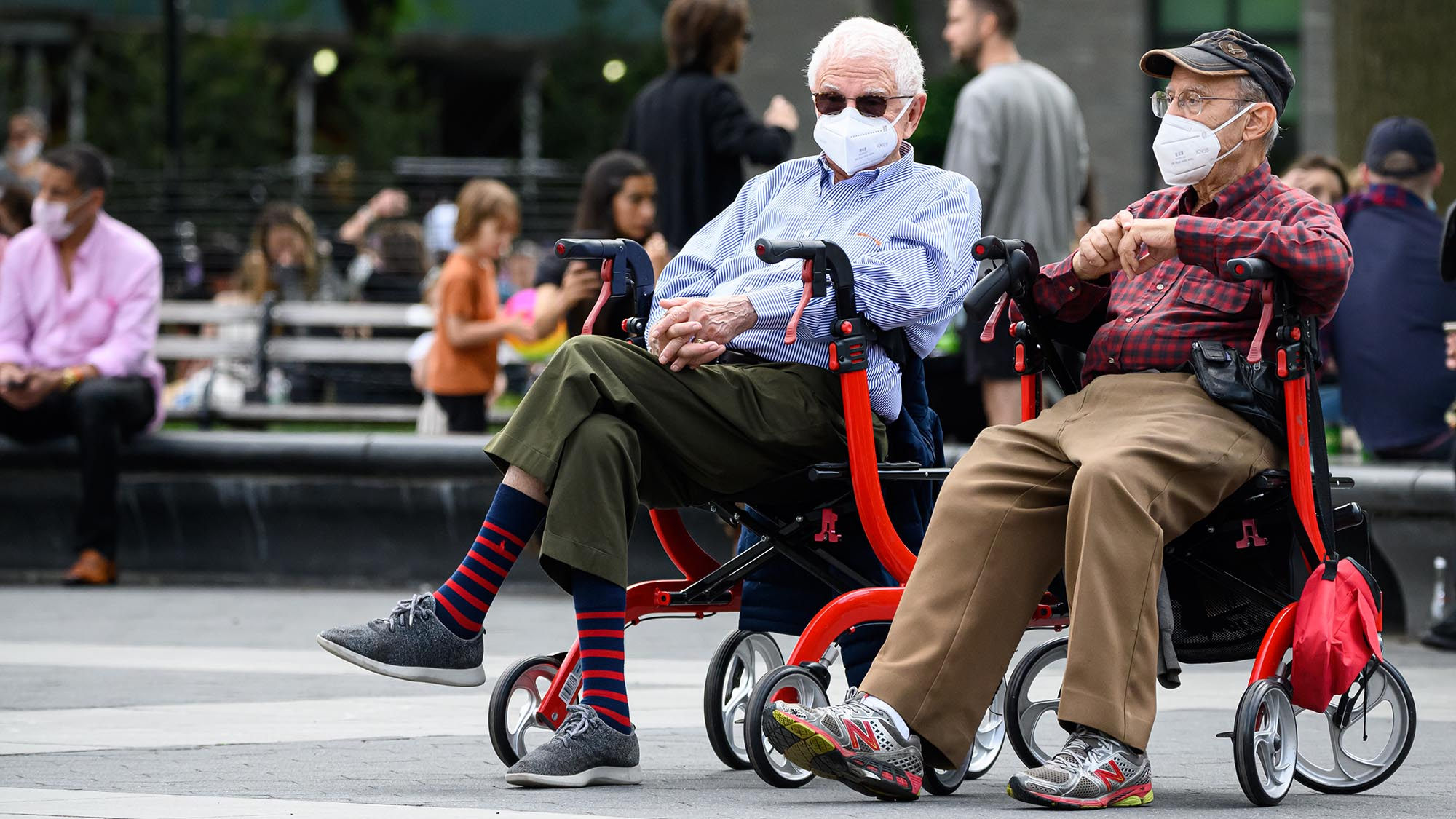 Seniors are better at pandemic safety than young adults, CDC finds