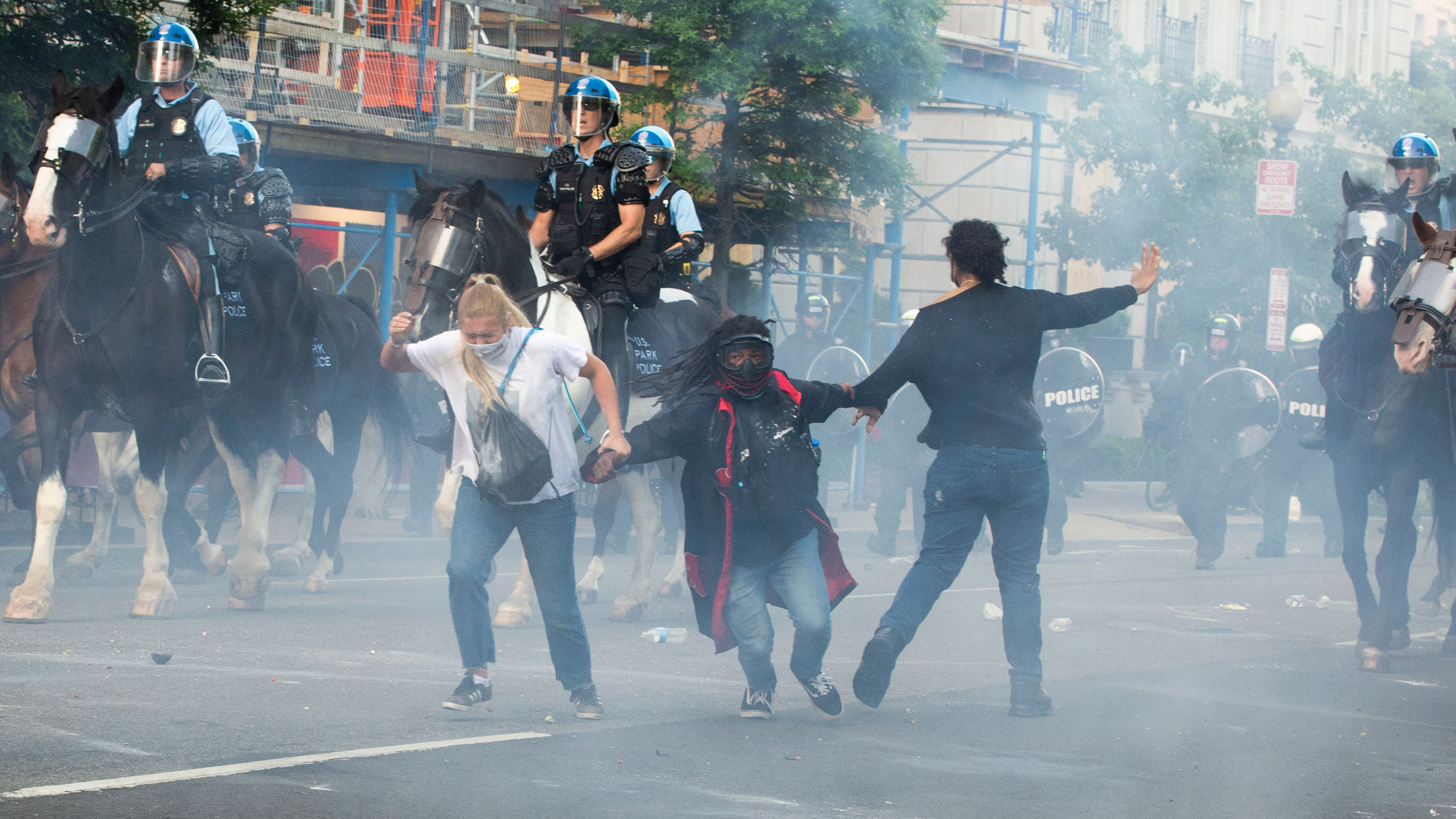 Tear gas: Prepare for what to do if you're exposed