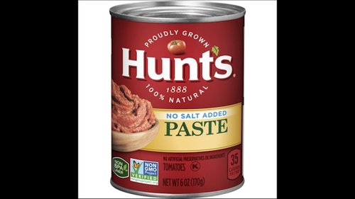 Image for Some cans of Hunt's tomato paste recalled over mold concerns