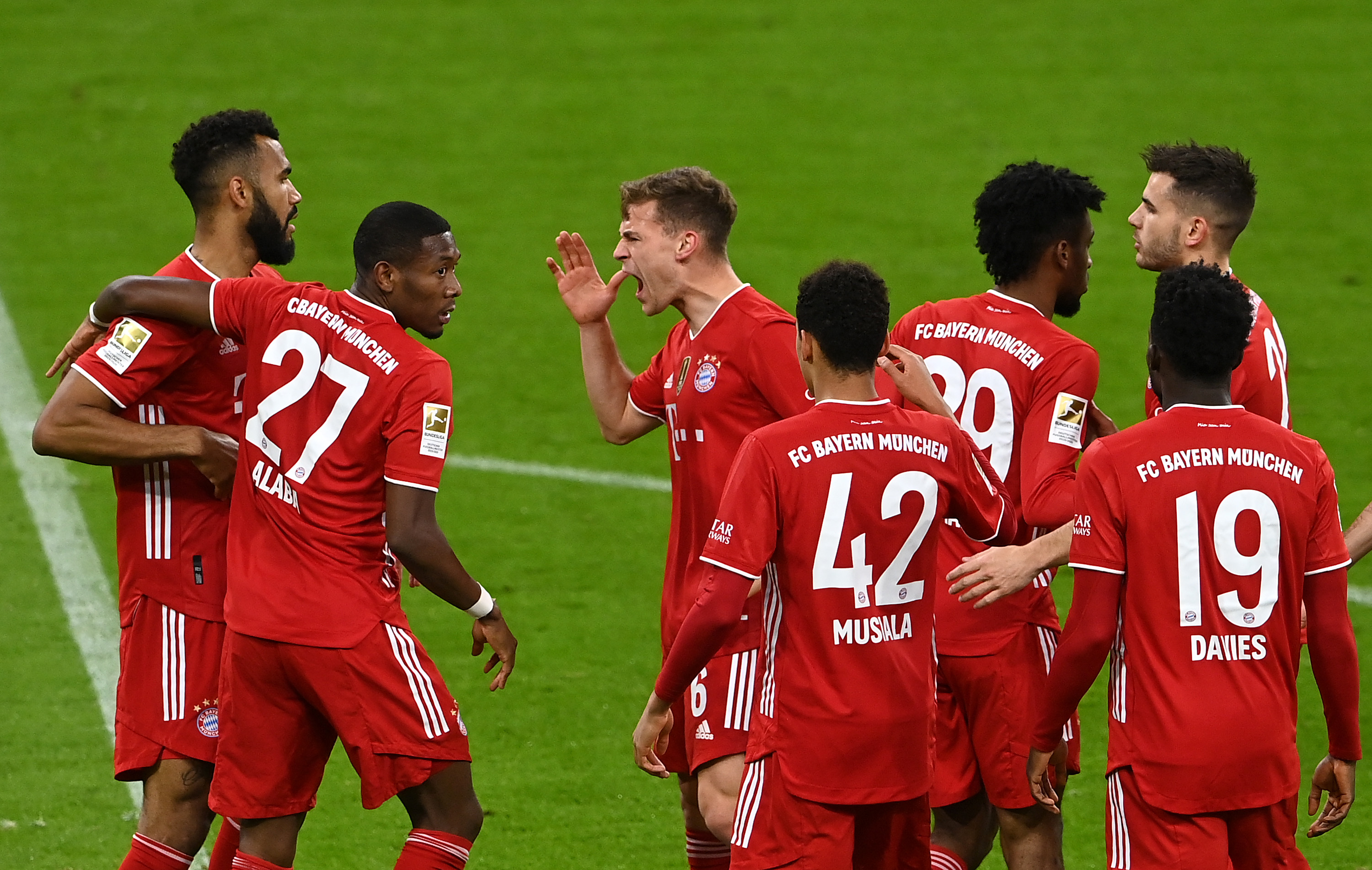 Bayern Munich wins ninth consecutive Bundesliga title