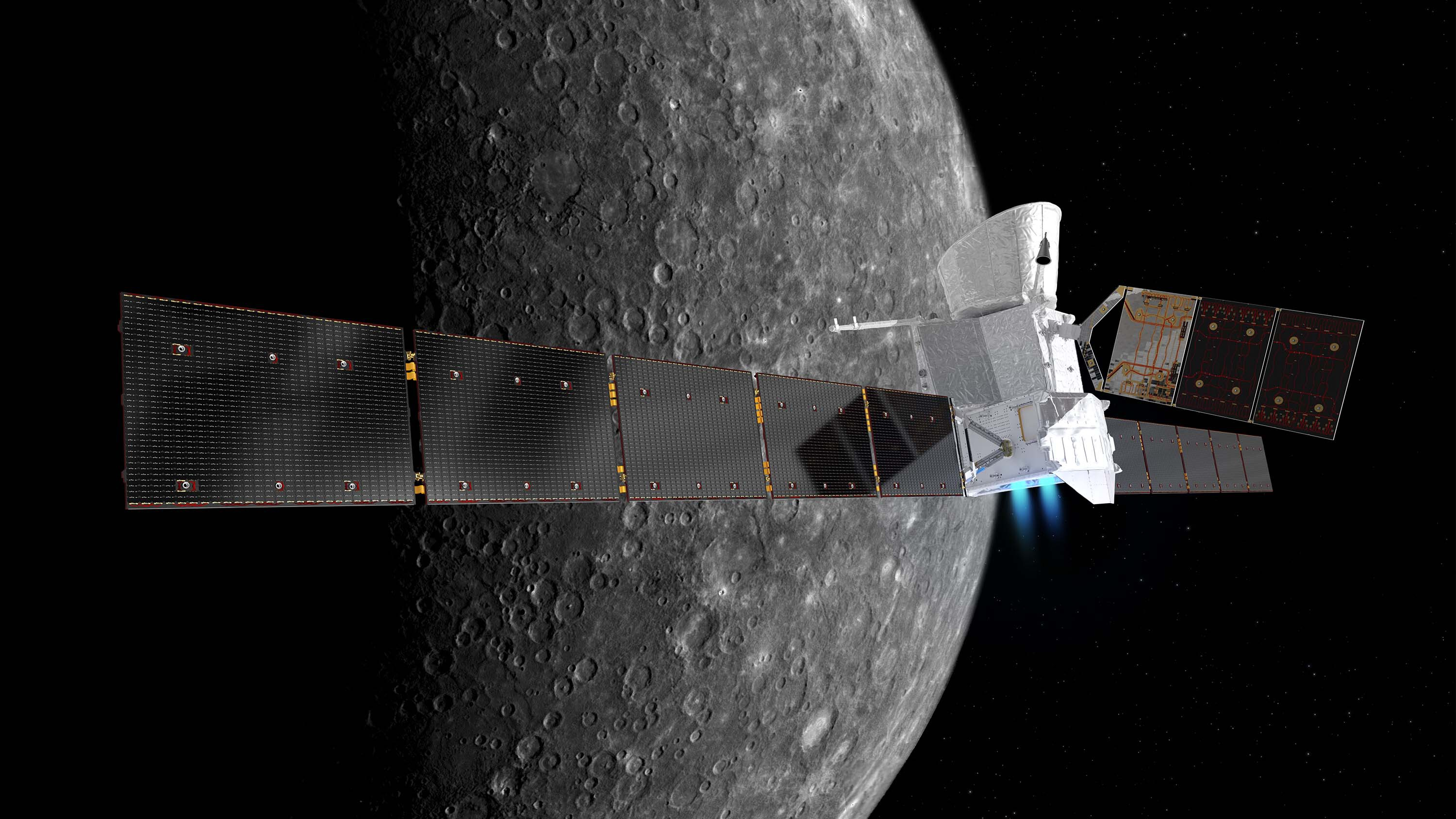 Mercury mission flies by closest planet to the sun for the first time