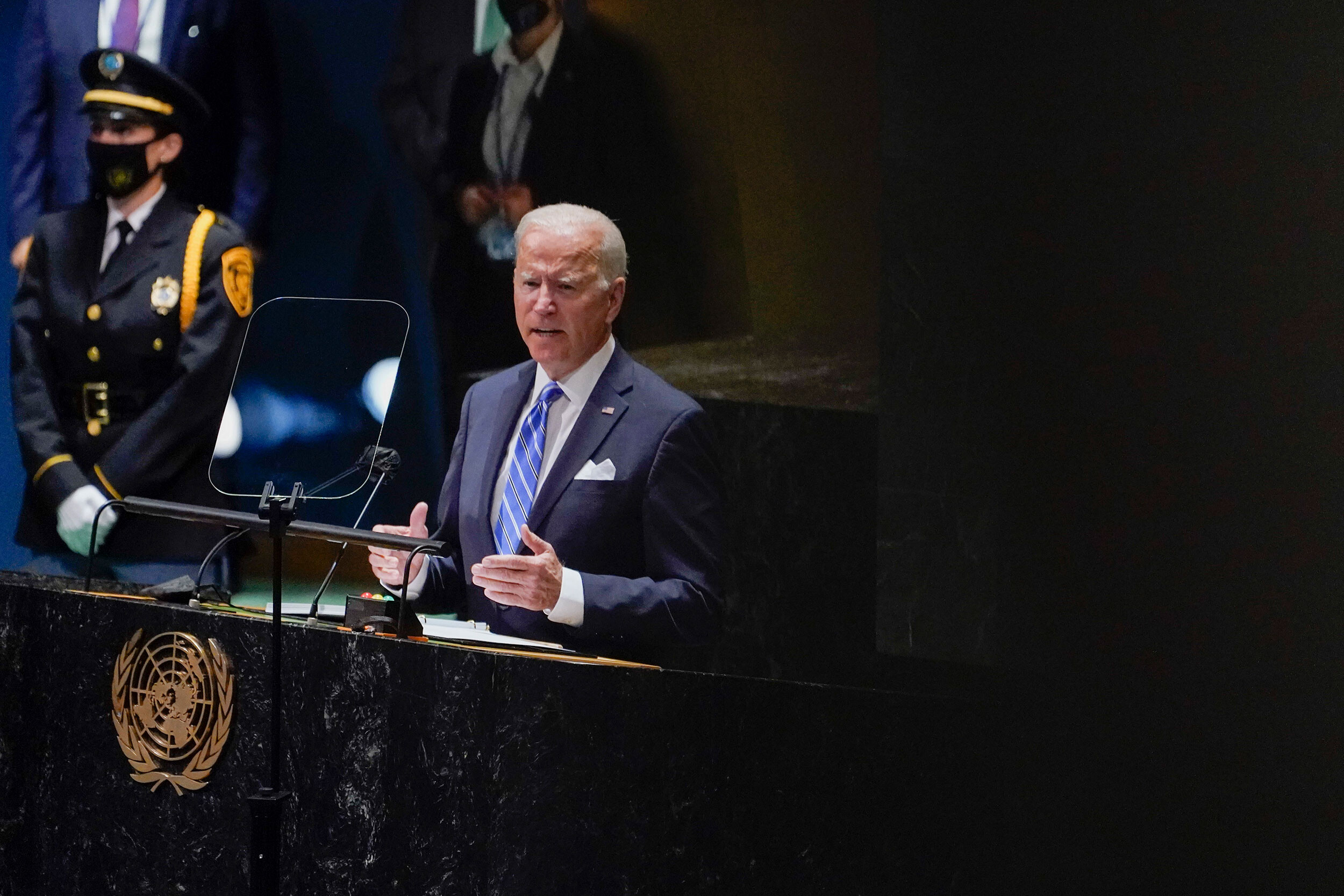 Biden called for diplomacy over conflict at the UN General Assembly. Here's how world leaders responded