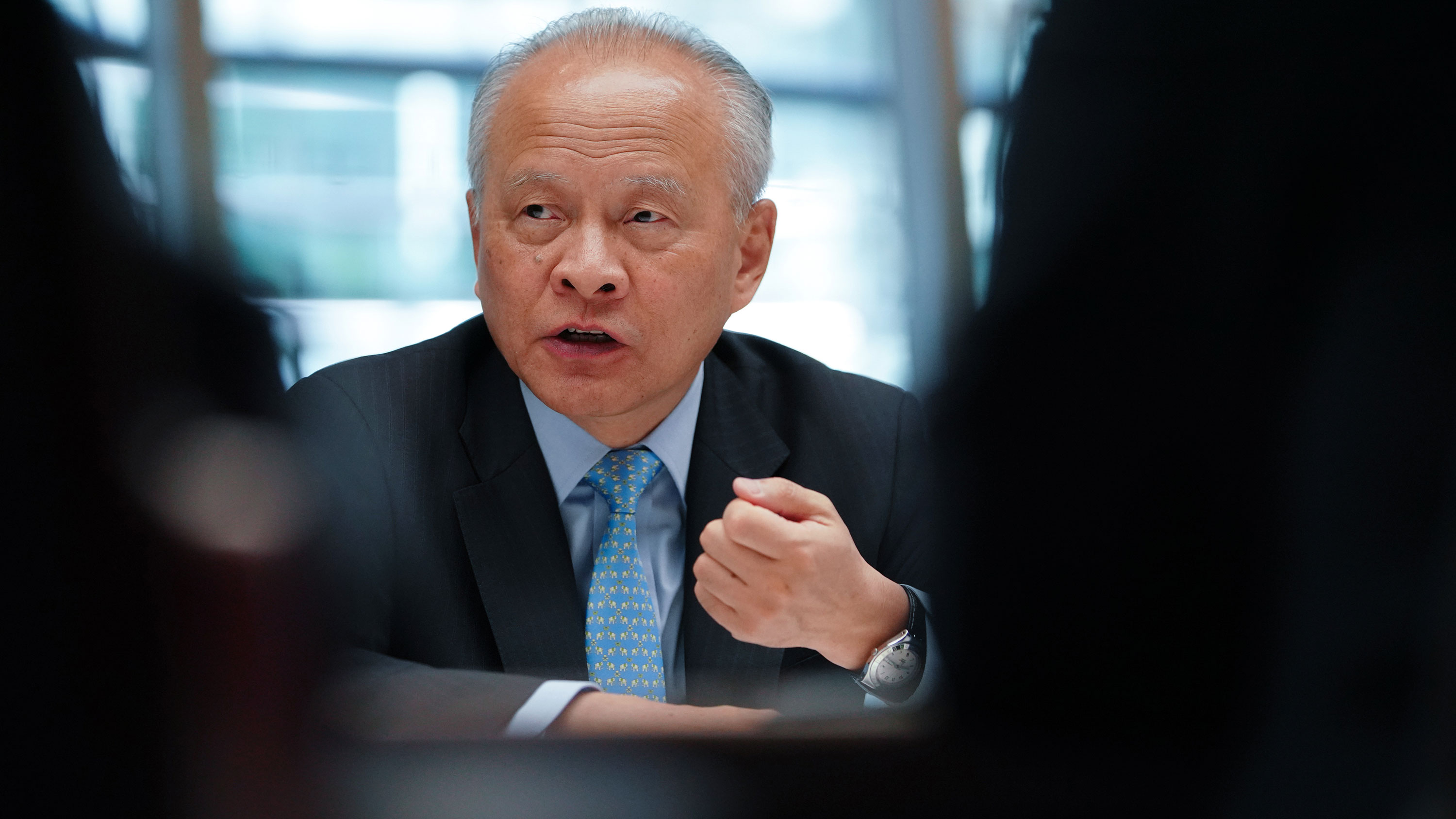 Chinese Ambassador to the US: China's goal is not to replace United States