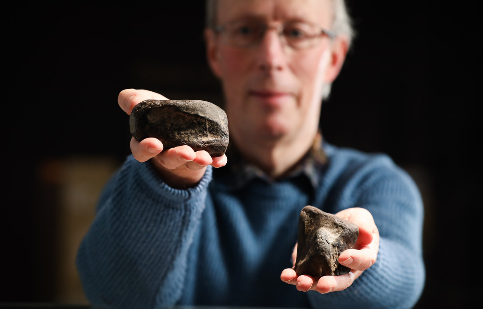 Teacher's decades-old find on a Northern Ireland beach turns out to be the island's first-ever dinosaur discovery