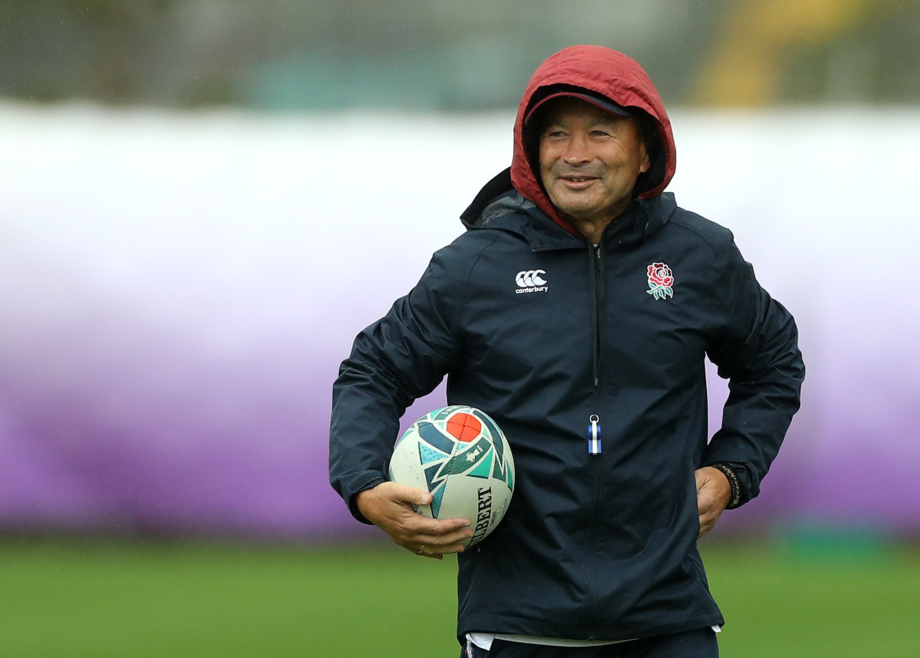 Eddie Jones claims England was spied on ahead of Rugby World Cup clash against New Zealand