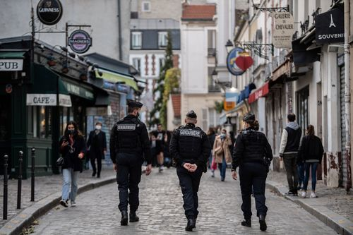 Image for French man fined for breaching lockdown to 'smash a guy's face in'