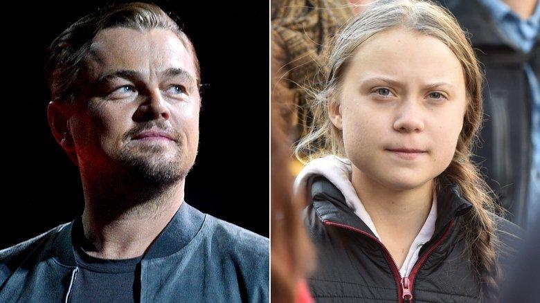Leonardo DiCaprio praises Greta Thunberg as a 'leader of our time'