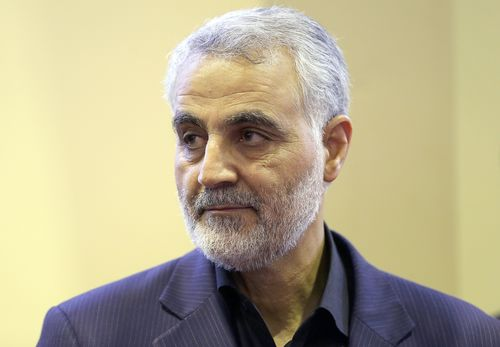 Image for Iran issues arrest warrant for Trump over drone strike that killed Qasem Soleimani