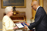 Jamaica's governor-general suspends personal use of royal insignia over 'offending image'