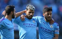 Manchester City hits Watford for eight in English Premier League